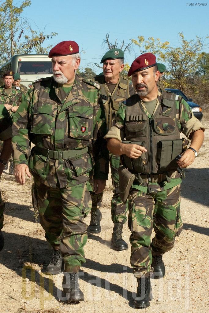 O Chefe do Estado-Maor do Exército, General Pinto Ramalho, afirmou a capacidade do Exército para cooperar com as forças policiais
