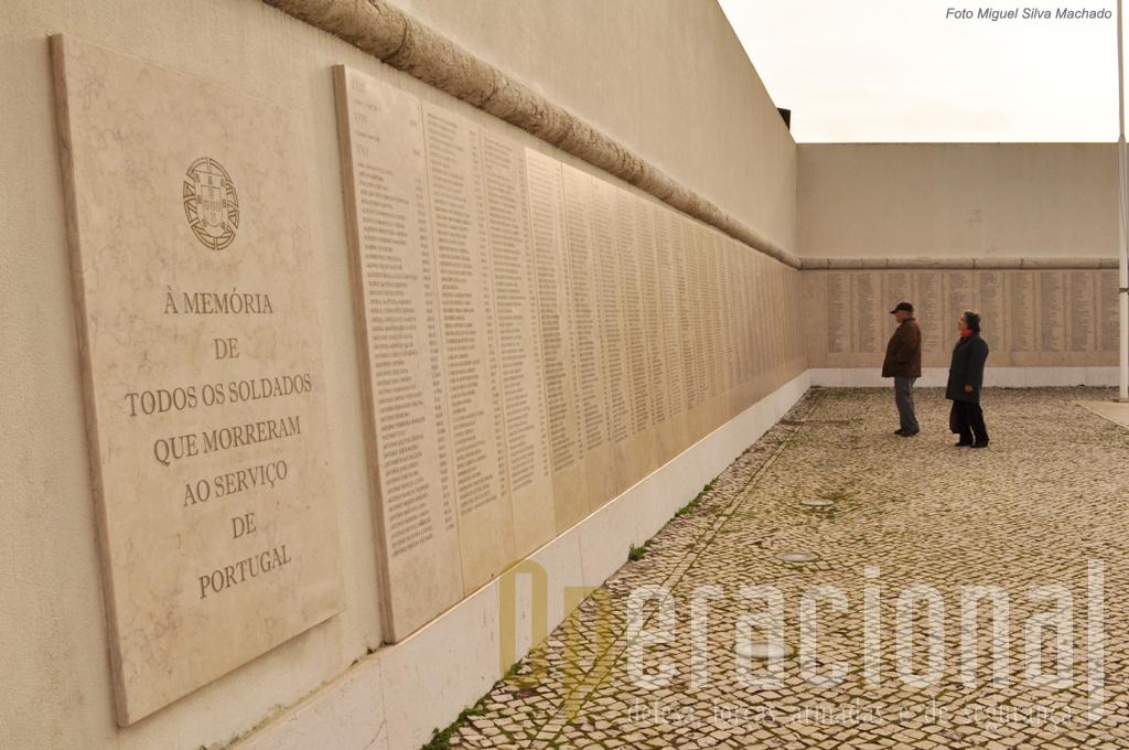 Portugal não esquece aqueles que caíram no campo de batalha pela sua Pátria