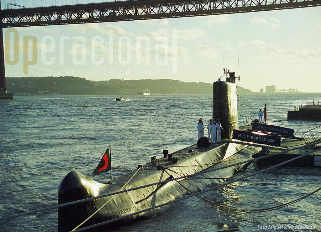 """O NRP """"Barracuda"""" cumpriu mais de 40 anos de serviço na Marinha Portuguesa"""