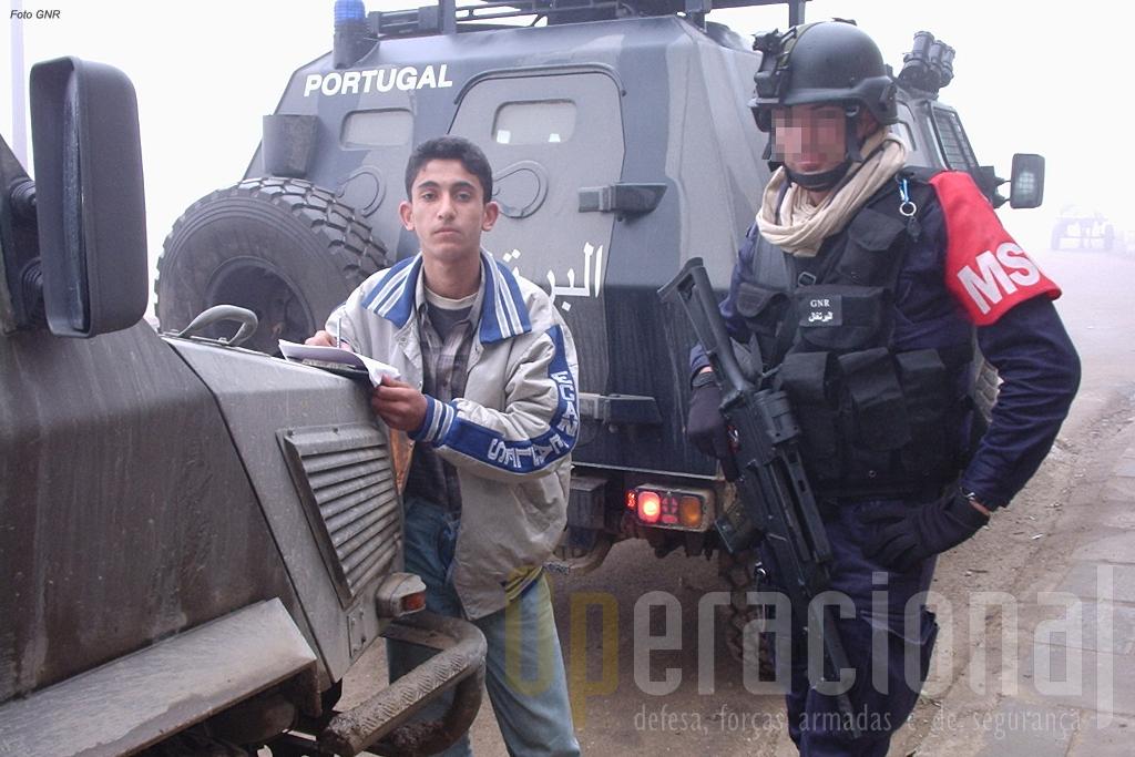 O esforço português no conflito do Iraque teve como principal actor no terreno a Guarda Nacional Republicana