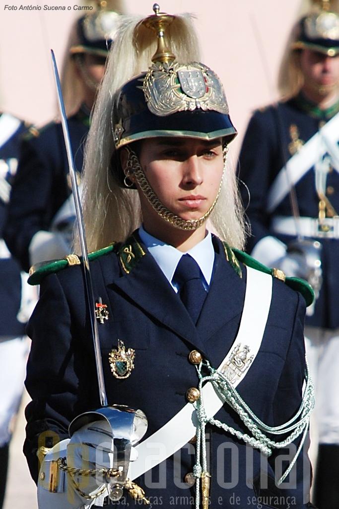 As mulheres integram hoje muitas das unidades da Guarda