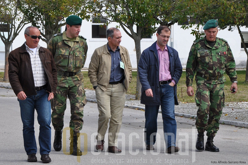 """O Major-general Raul Cunha recebeu o """"Operacional"""" em Tancos em 18 de Março de 2010."""