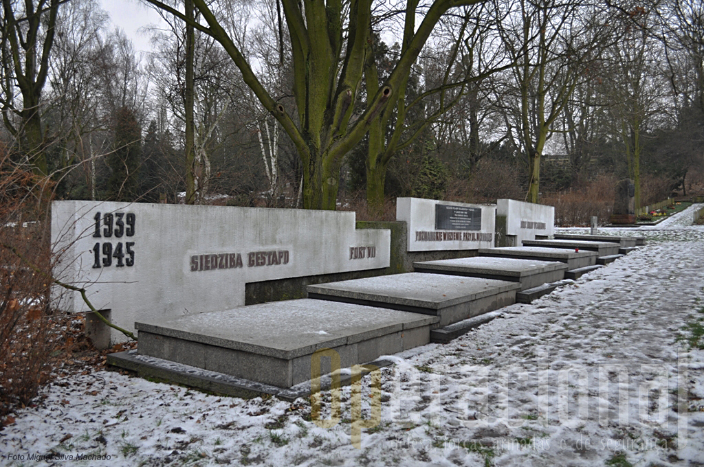 As vítimas da Gestapo durante a ocupação alemã...