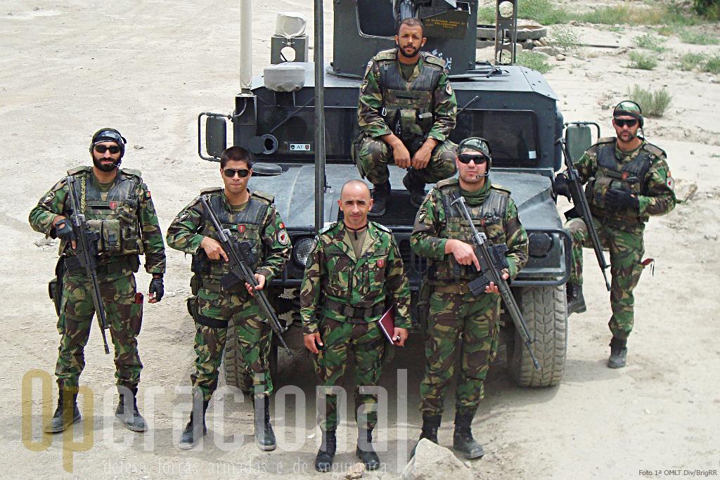 Comandos no Afeganistão. A BrigRR prevê manter companhias de comandos neste teatro de operações no minimo pelo periodo de uma ano