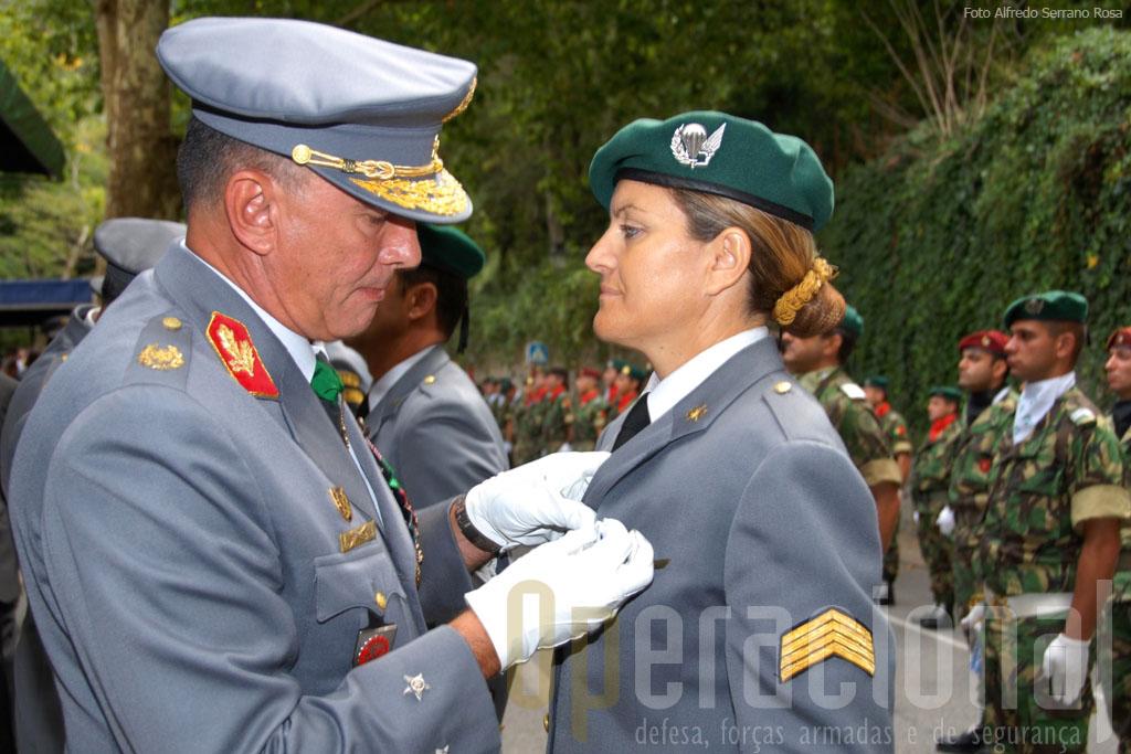 O recrutamento feminino tem vindo a diminuir mas em Tancos está-se a desenvolver esforços para inverter esta tendência.