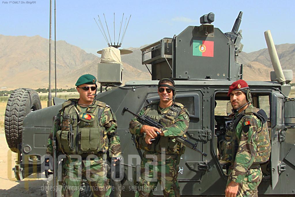 A capacidade de sobrevivência dos militares que estão no Afeganistão perante as ameaças locais são naturalmente uma das preocupações sempre presentes