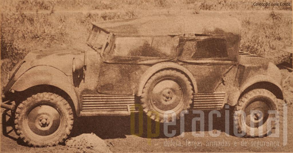 """Viatura de Transporte de Pessoal """"Tempo"""" G1200 TP3 4x4 m/1940"""