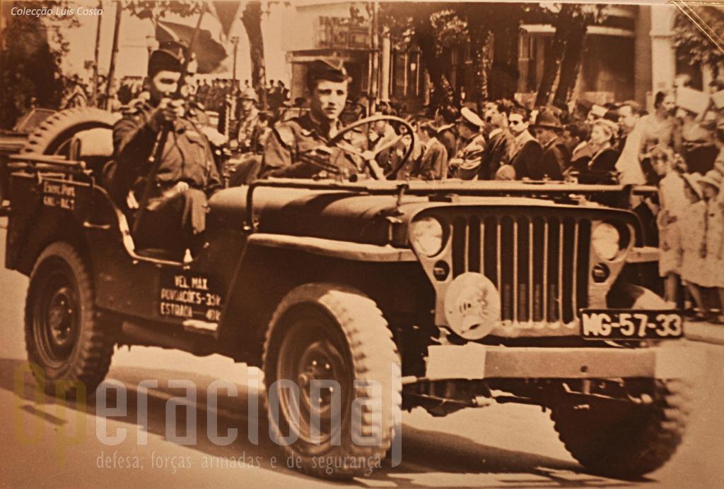 Viatura de Transportes Gerais Willis MB 1/4 ton 4x4 m/1944
