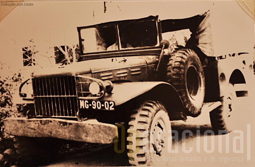 "Viatrura de Transportes Gerais ""Dodge"" T-214-WC51 3/4 ton. 4x4 m/1948"
