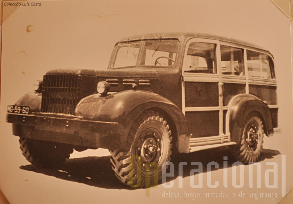 "Viatura de Transporte de Pessoal ""Dodge"" T-214-WC51 3/4 ton. 4x4 m/1948/50"