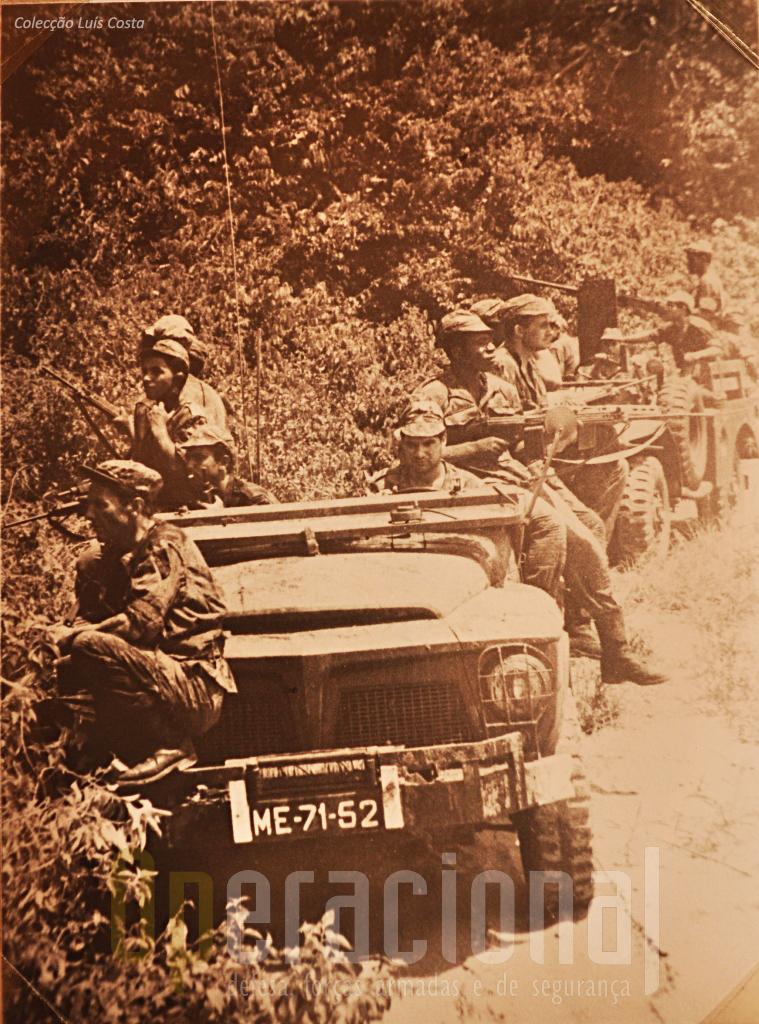 "Viatura de Transportes Gerais ""Willis Jeep"" 3/4 ton. 4x4 m/1962"