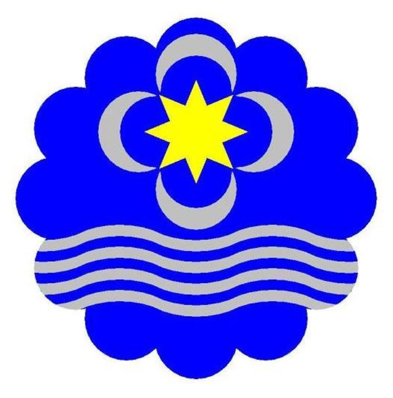 Modelo do emblema da APqTN (desenho com cores directas).