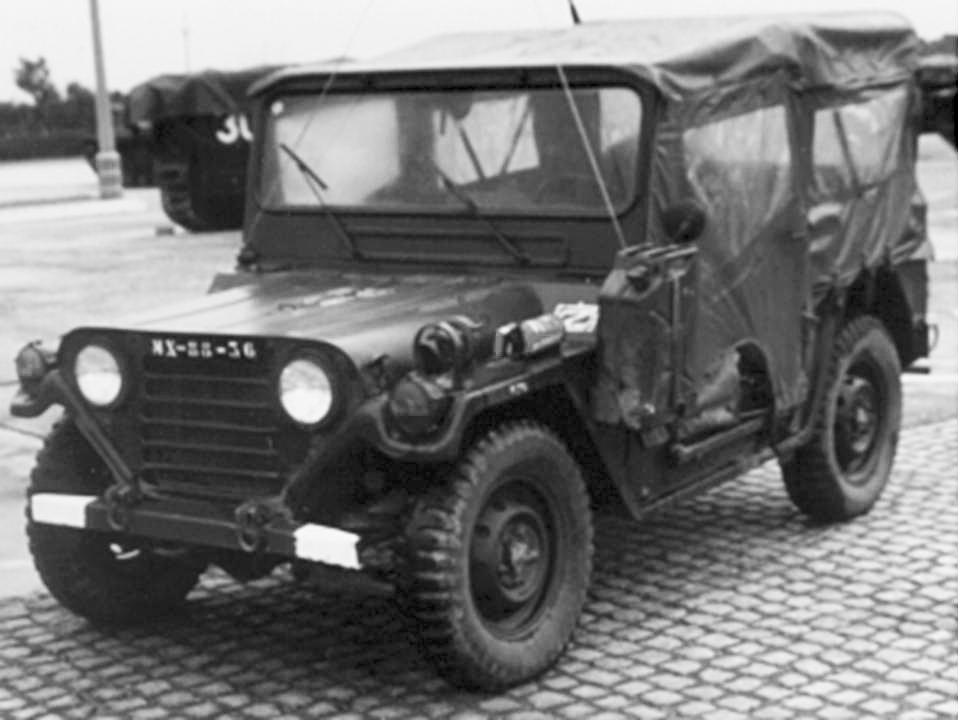 Viatura de Transportes Gerais Ford MUTT M151A2 0,25 ton. 4x4 m/1978