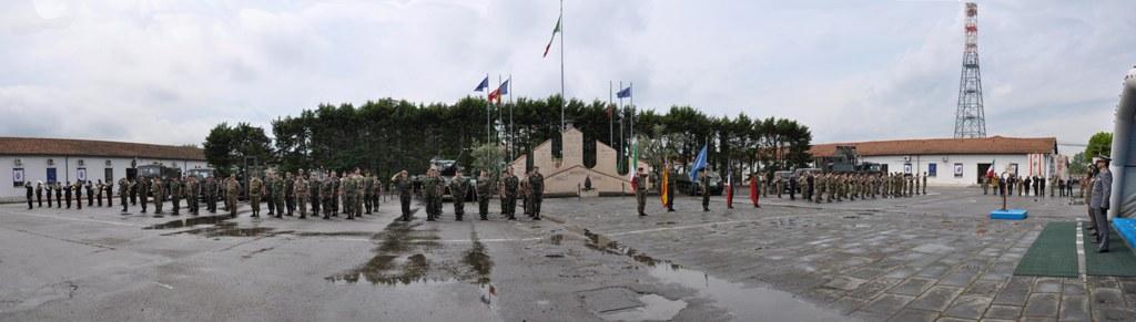 Cerimónia Militar em Florença no passado dia 15 de Maio de 2010