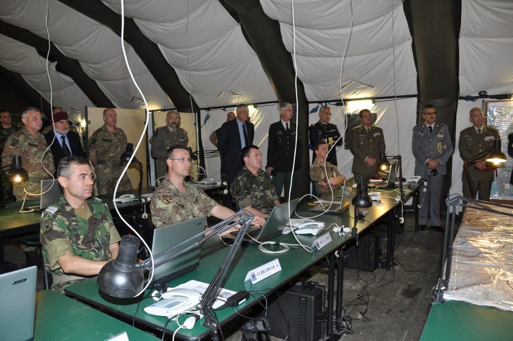Militares de Espanha, França, Itália e Potugal integram este QG que pode operar a partir de Florença ou ser projectável