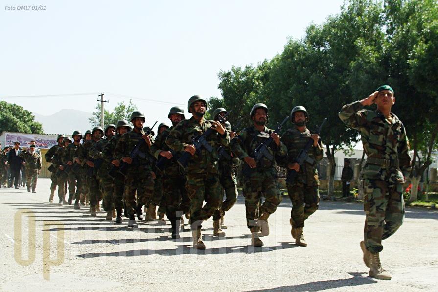 Portugal é um dos países que apoia a formação do Exército Nacional Afegão