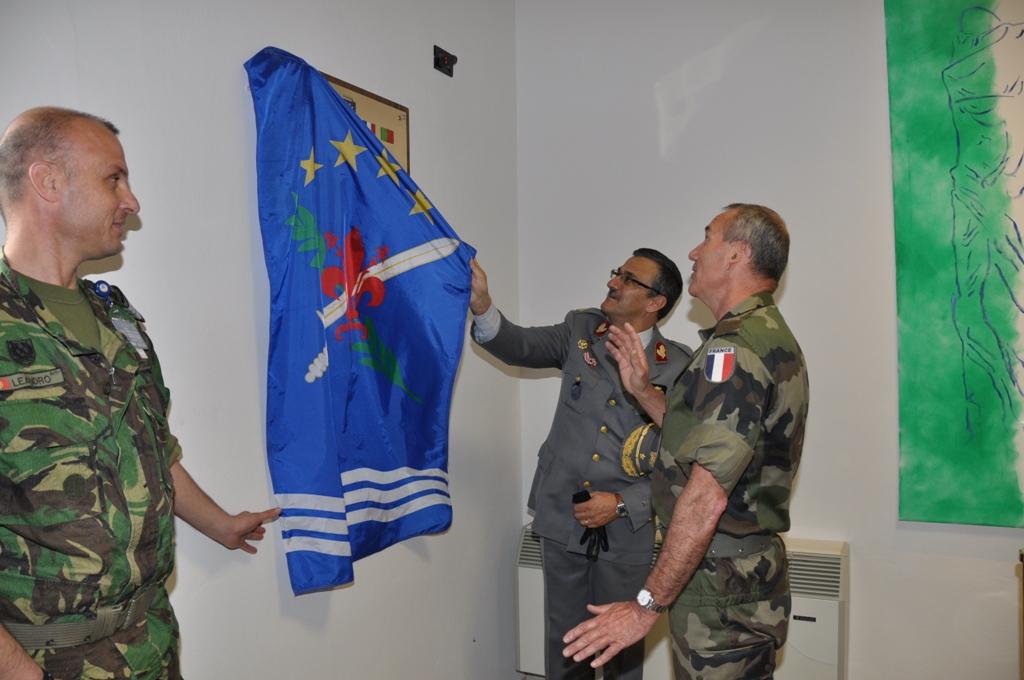 Coube a Portugal proceder ao acto simbólico da inauguração do novo complexo