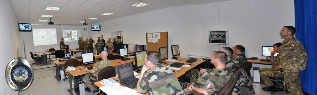 O novo complexo dotado de tecnologia capaz de controlar exercícios e operações dentro e fora do território italiano