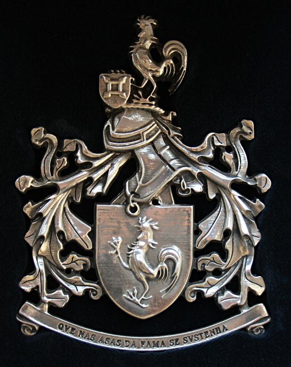 Criado em 2001 no decurso do processo de aprontamento do batalhão para Timor, o Galo permanece como símbolo do 2ºBI/BrigInt.