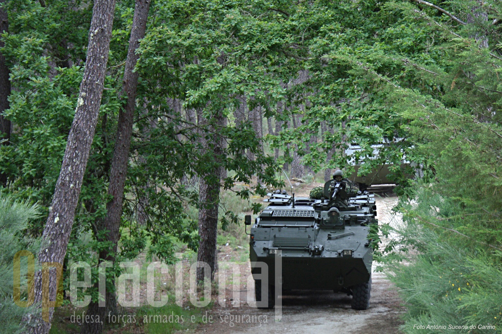 Chegadas a Viseu em 31 de Março de 2009, as VBR 8X8 TP Pandur II têm participado em vários exercícios de batalhão, brigada e Exército, com milhares de quilómetros percorridos.