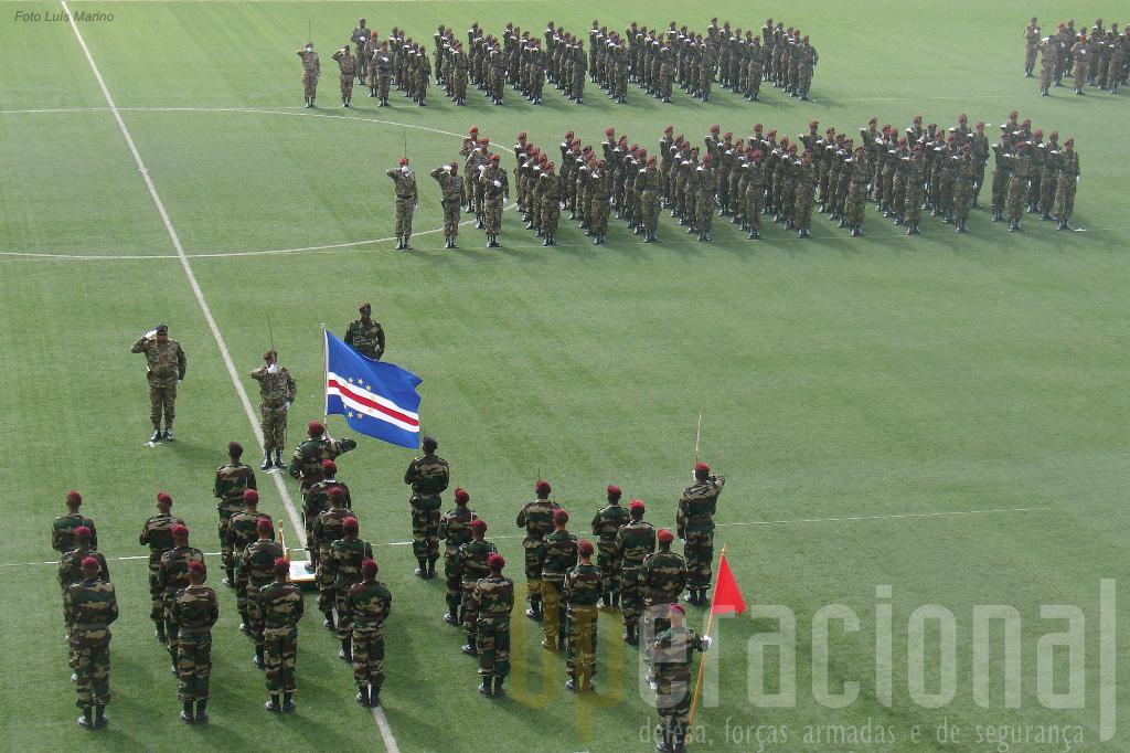 Cerimónia de Juramento de Bandeira em Julho de 2010.