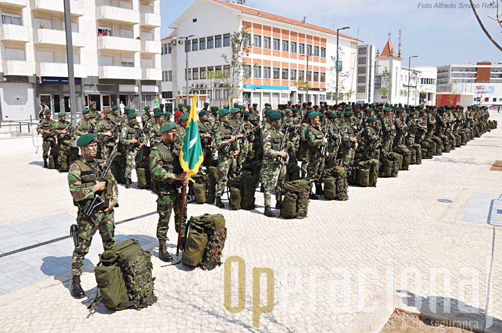 O 1ºBIPara unidade que vai substituir o 2ºBIPara no Kosovo o próximo mês de Setembro.