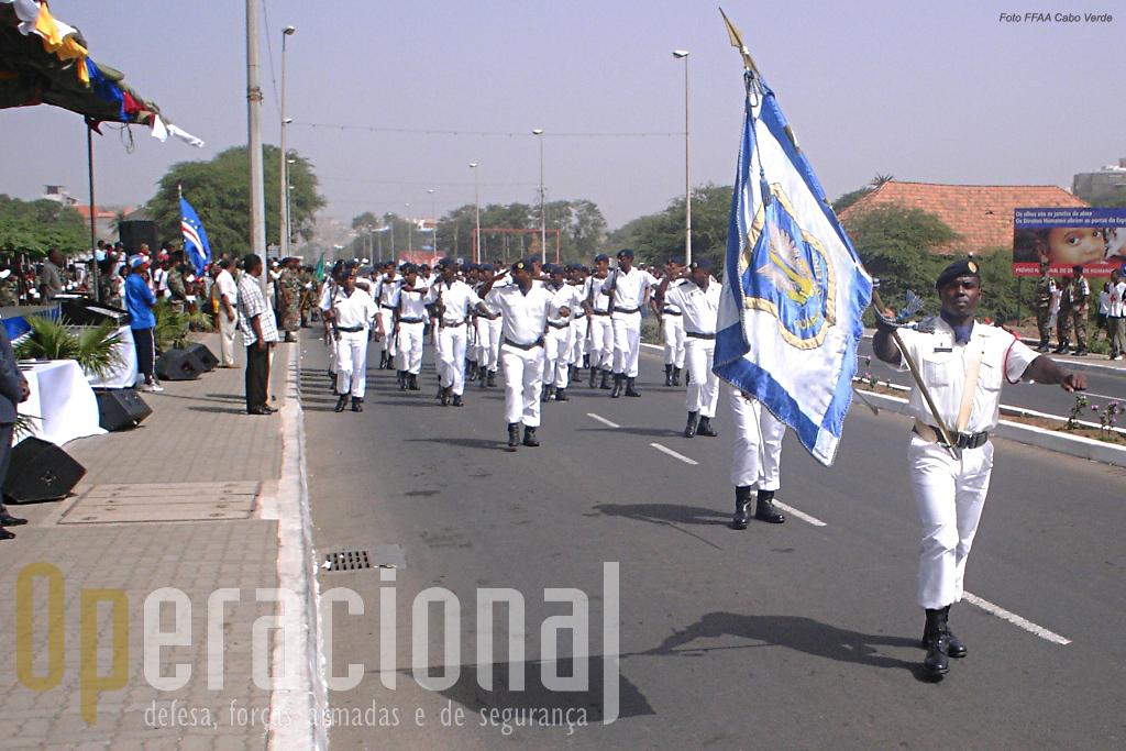 Os fuzileiros navais da Guarda Costeira