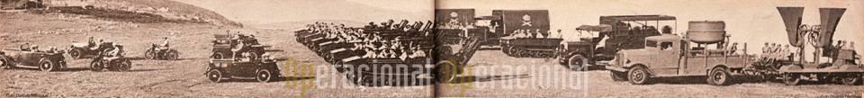 O Grupo de Artilharia Contra Aeronaves em 1940.