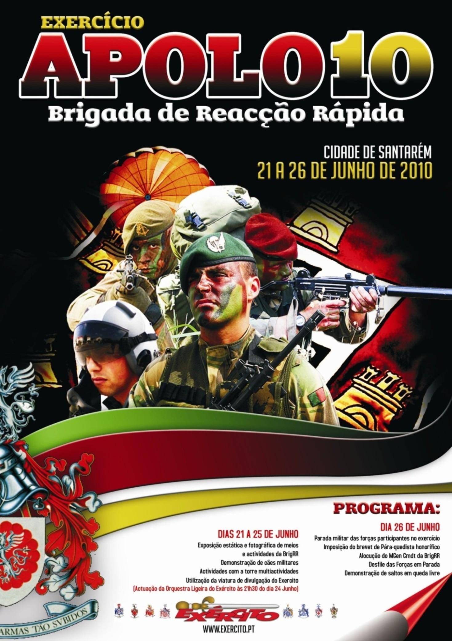 As acções de divulgação, sobretudo a nivel regional, foram muito cuidadas tendo muito en vista cativar os jovens para a prestação de serviço militar nas tropas de elitdo Exército.