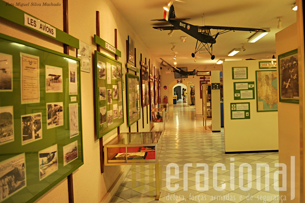 As salas iniciais do Museu dispõem de abundante informação de carácter histórico.