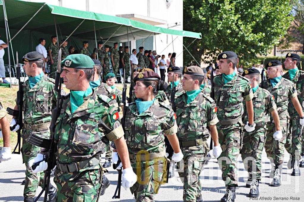O 1ºBIPara recebeu pessoal de otras armas e serviços do Exército para esta missão expedicionária.