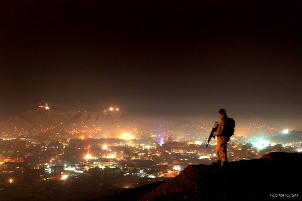 """Cabul, um dos locais onde hoje militares portugueses prestam serviço, quer enquadrados nas Forças Nacionais Destacadas quer a título individual, """"trajando à civil""""."""