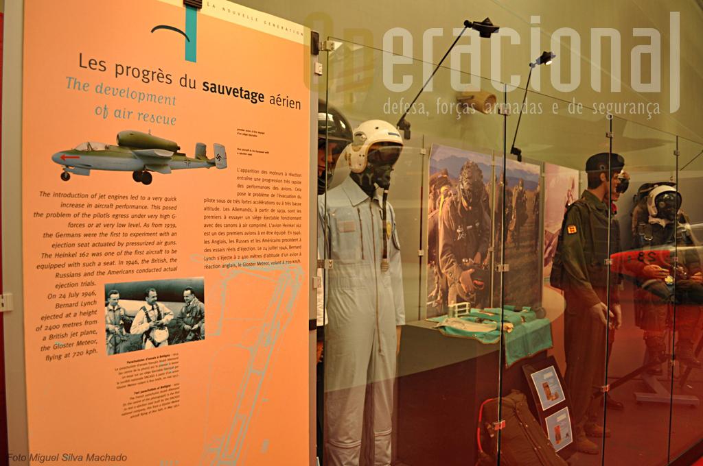 Nem só de aviões vive o museu, havendo muitos outros elementos de interesse a observar.