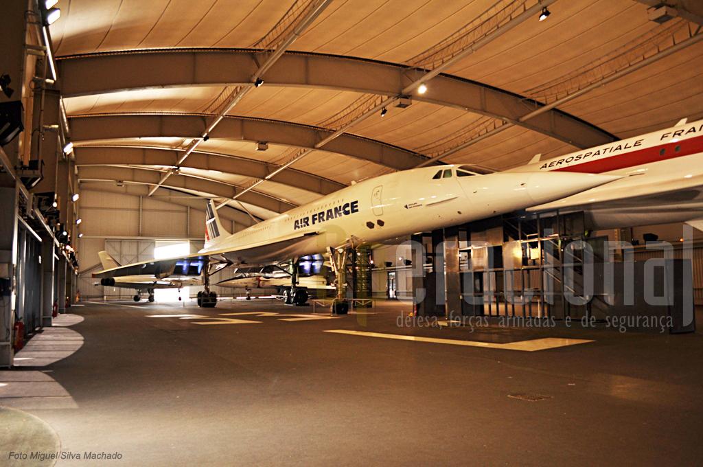 O Concorde F-BTSD Sierra Delta (Air France), chegou aqui em 2003 depois 12.976 horas de voo desde 1978 em 4.282 voos.