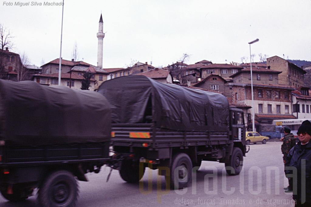 O 2.º BIAT passava por Sarajevo em direcção à República Srpska nas datas previstas, Portugal cumprira aquilo a que se havia comprometido com a NATO.