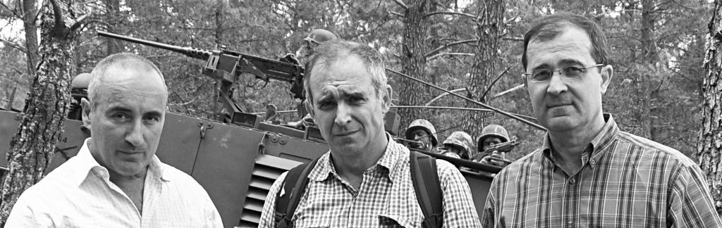 Armando Dinis Marques, Miguel Silva Machado, António Sucena do Carmo.