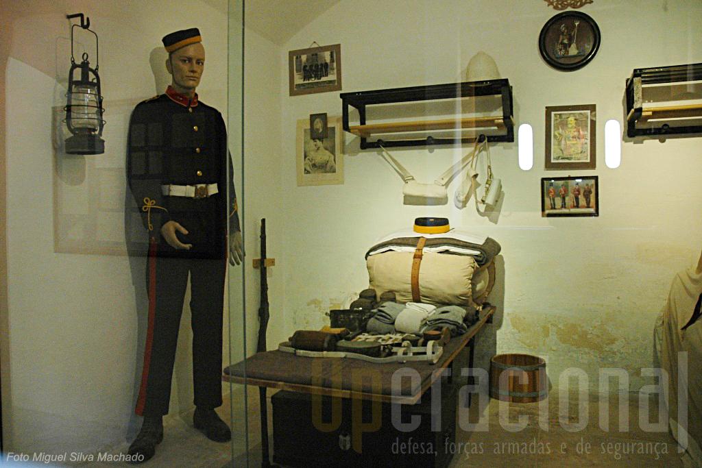No interior do Forte Rinella é hoje possivel perceber como era a vida quaotidina das guarnições.