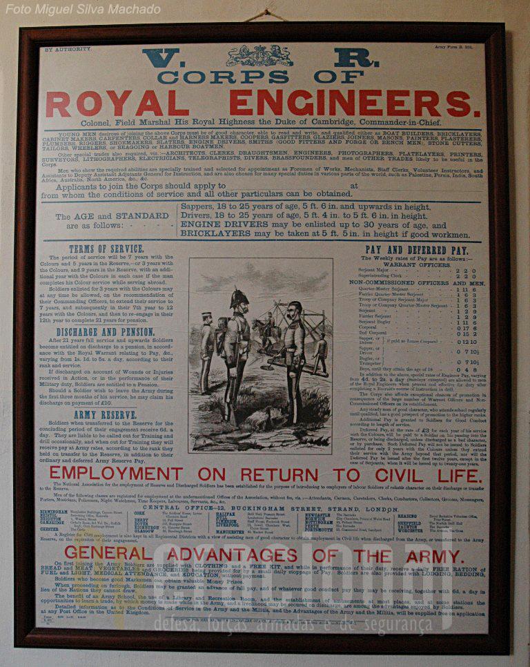 13.Verdadeiramente interessante o detalhe das informações prestadas, no século XIX, aos militares britânicos sobre as condições que os esperavam na sua vida militar.