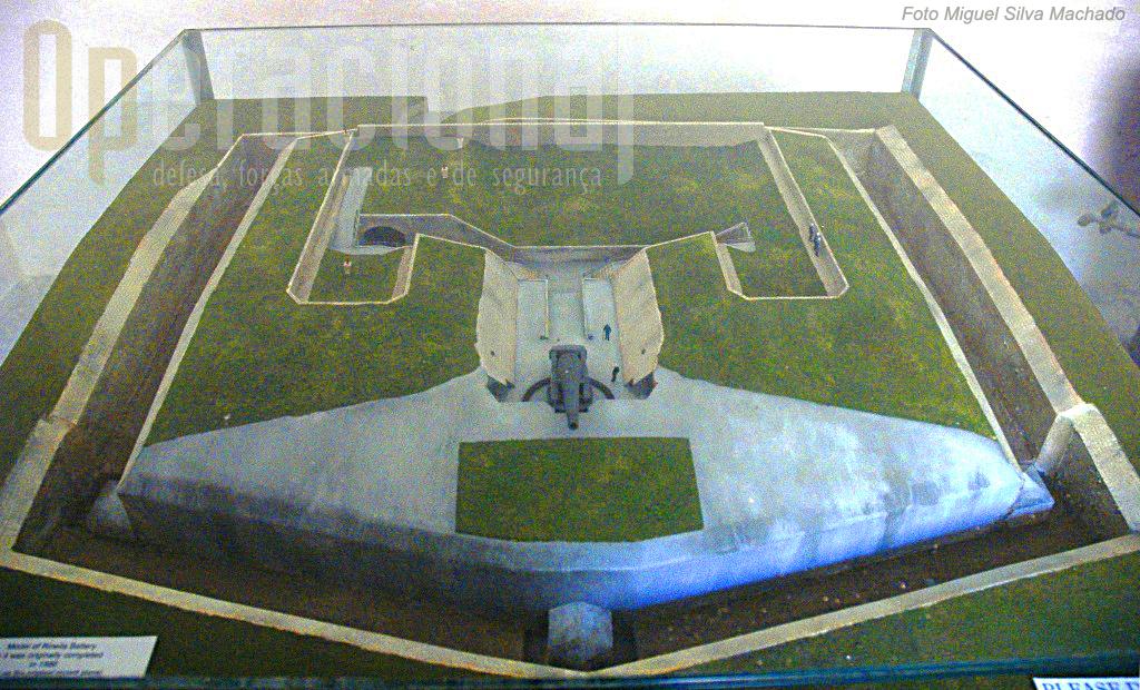 Forte Rinella, uma instalação construída à medida de uma única arma