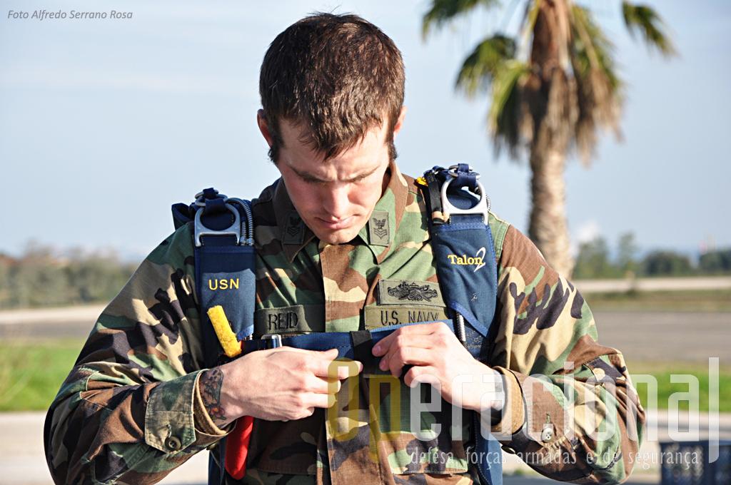 Sargento dos SWWC da Marinha dos EUA.