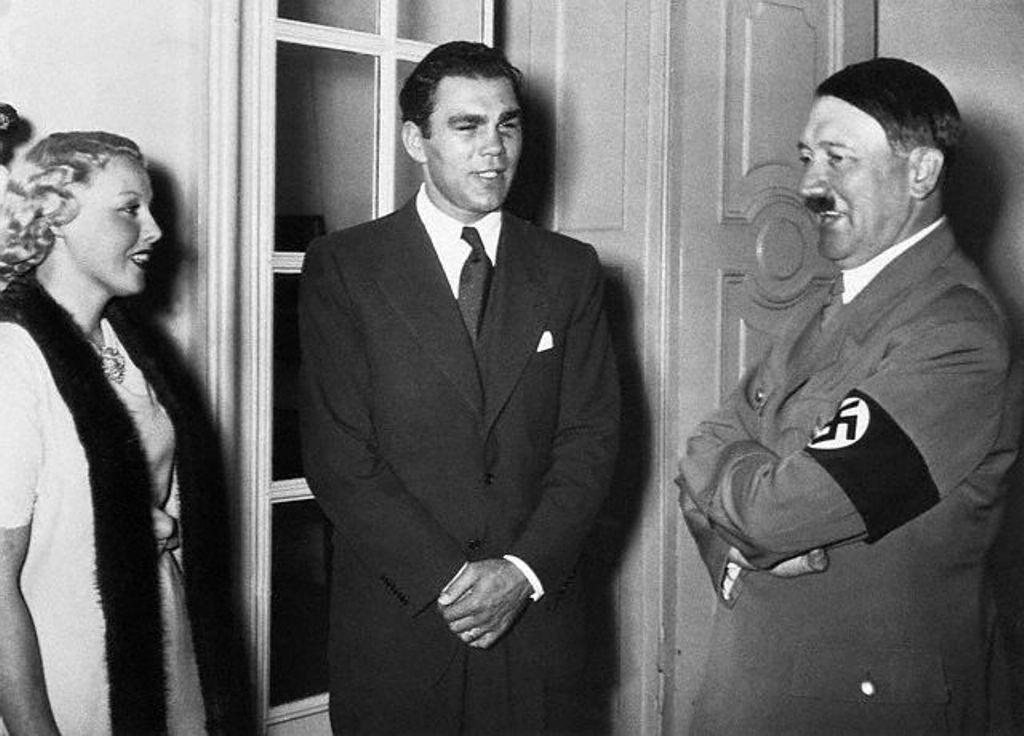 Max Schmeling, apesar de admirado e usado pelo Reich, recusou sempre qualquer filiação nas organizações políticas nazis. (Foto de arquivo)
