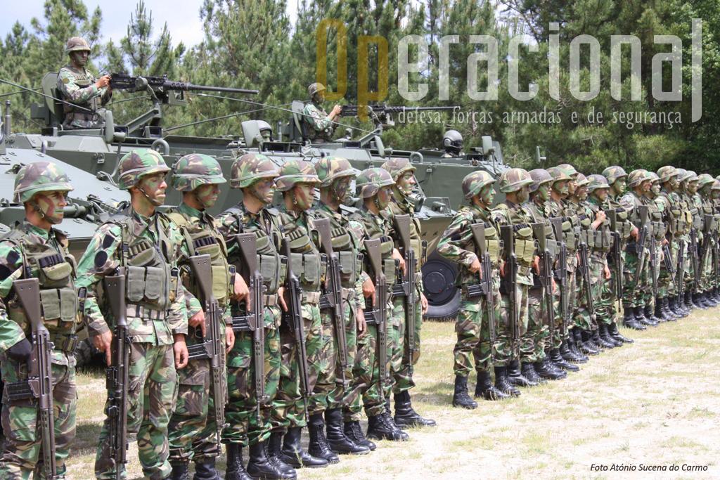 A nova redução de pessoal militar abrange sobretudo o pessoal em Regime de Voluntariado e de Contrato.