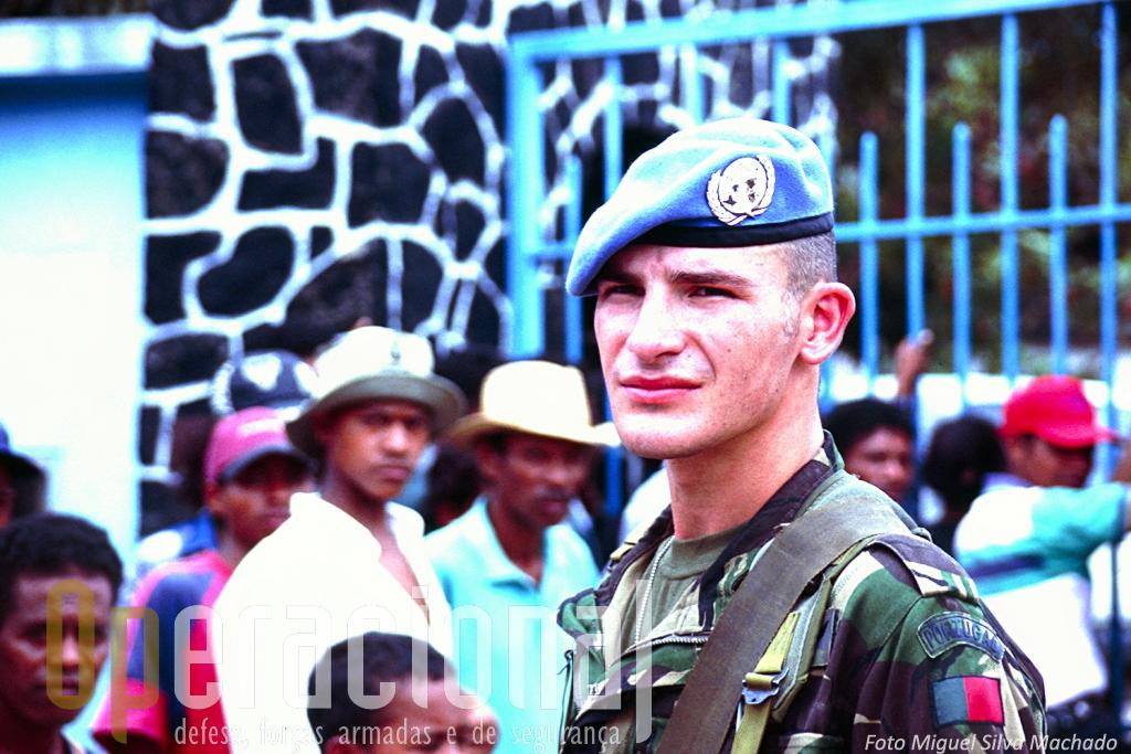 Em 2000 as Forças Armadas Portuguesas iniciavam a participação na operação das Nações Unidas em Timor-Leste