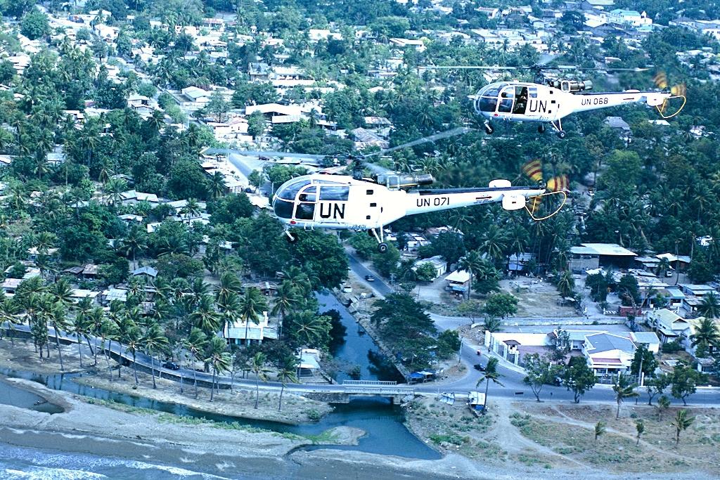 Os ALIII da Esquadra 552, 37 anos depois de chegados a Portugal e 25 dpois de terminada a Guerra no Ultramar, provaram que continuavam operacionais e cumpriram a missão em Timor-Leste.