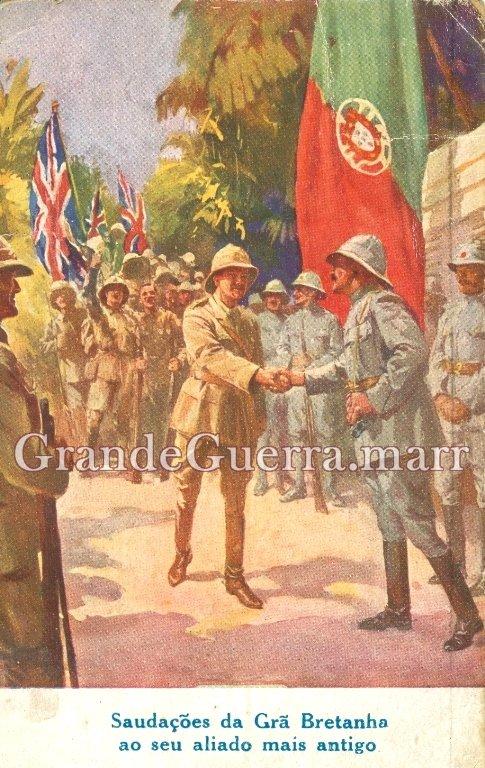 Postal ilustrado de propaganda (Colecção particular)