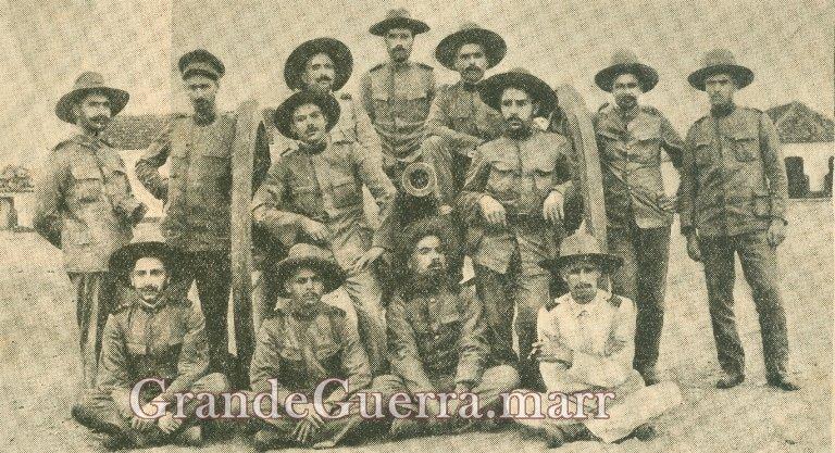 Tropa de África! Foto de 1918