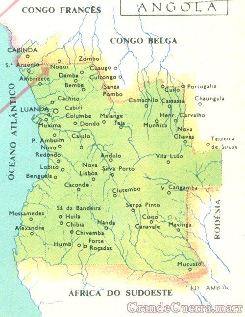 A Colónia Portuguesa de Angola