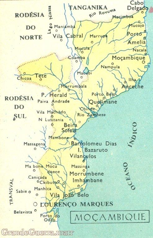 A Colónia Portuguesa de Moçambique