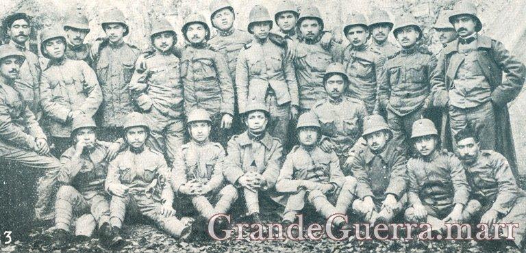 Grupo de expedicionários de Infantaria n.º 18 que partiram para Angola In: Ilustração Portuguesa (Colecção particular)