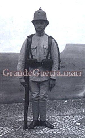 Soldado de Infantaria (Fotografia colecção particular)